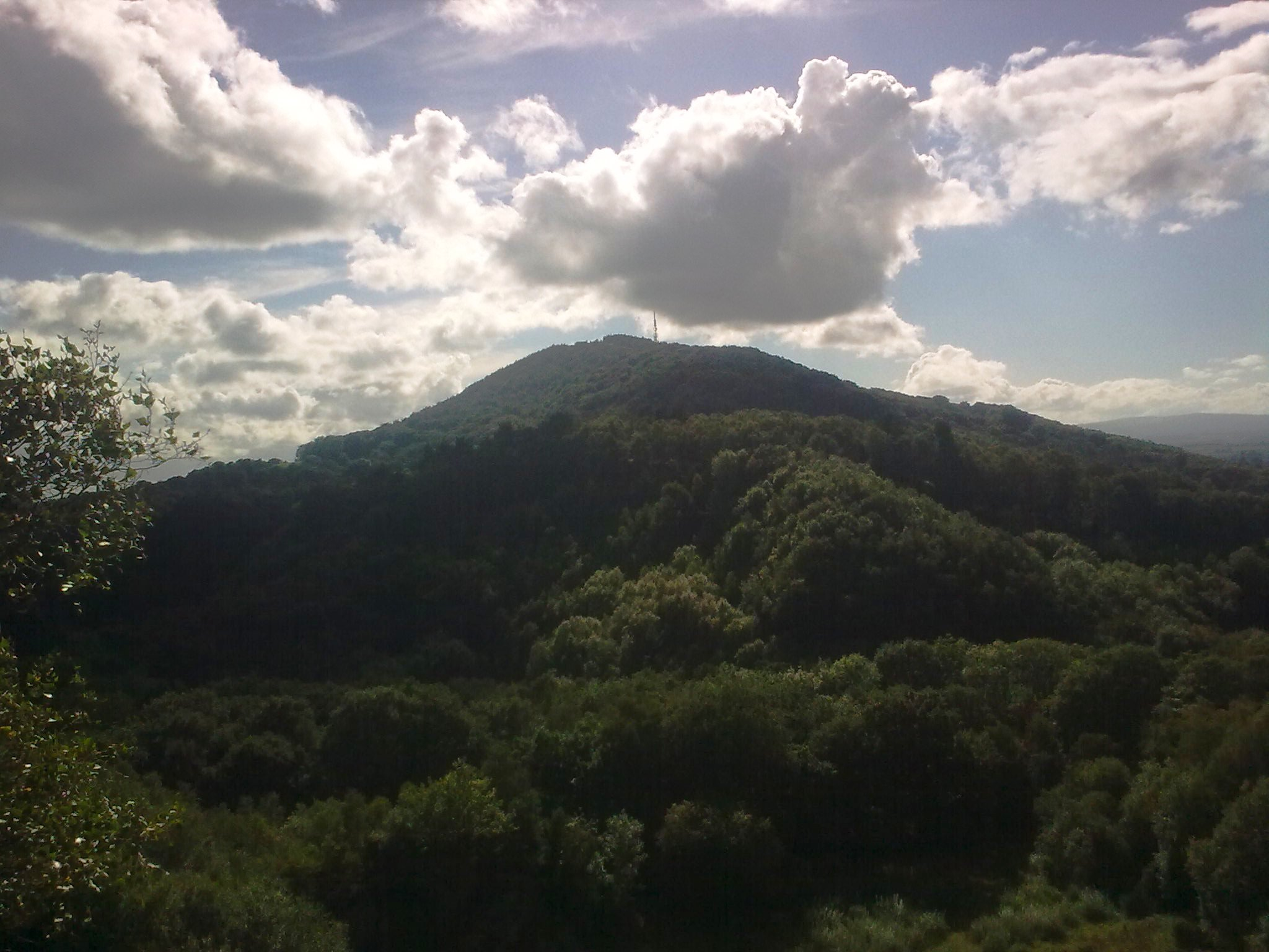 The_Wrekin_from_the_Ercall